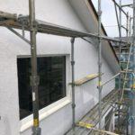 アルセコ外壁塗装完了!庇とシェードも取り付け中