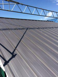 ガルバリウム屋根シルバーブラック