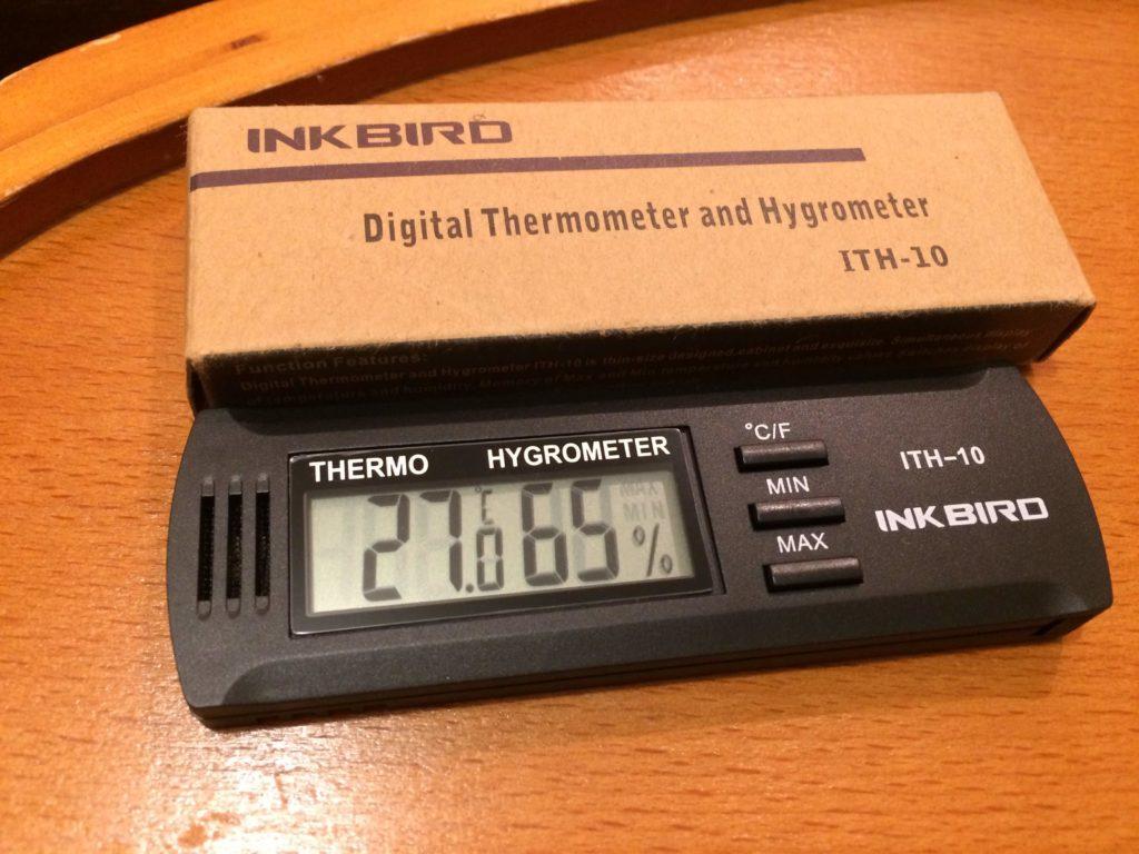 高精度 温室時計 INKBIRD ITH-10