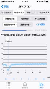 エアコン消費電力3