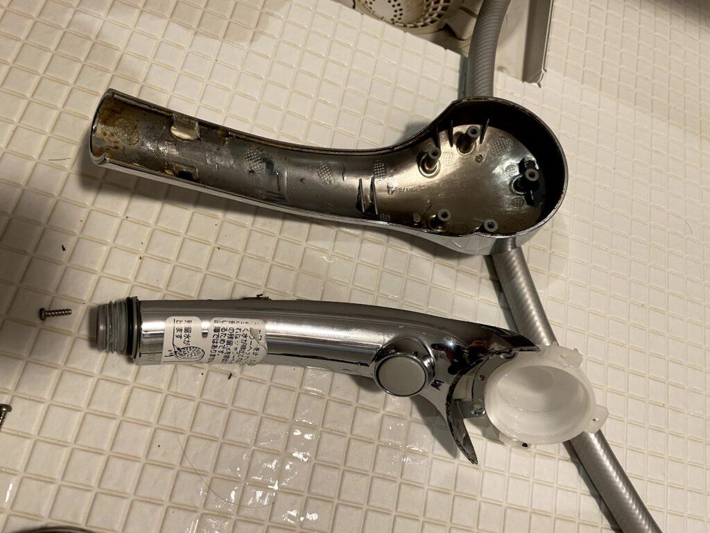 シャワーヘッド分解11